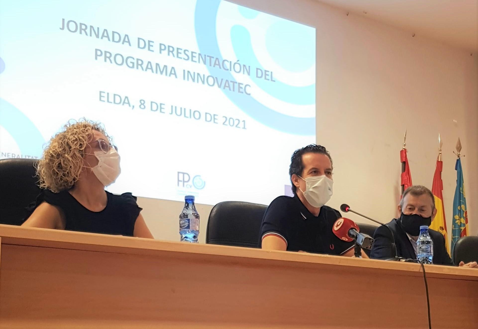 Elda acoge la presentación del programa 'Innovatec' para los responsables docentes de todos los centros de FP de la provincia de Alicante