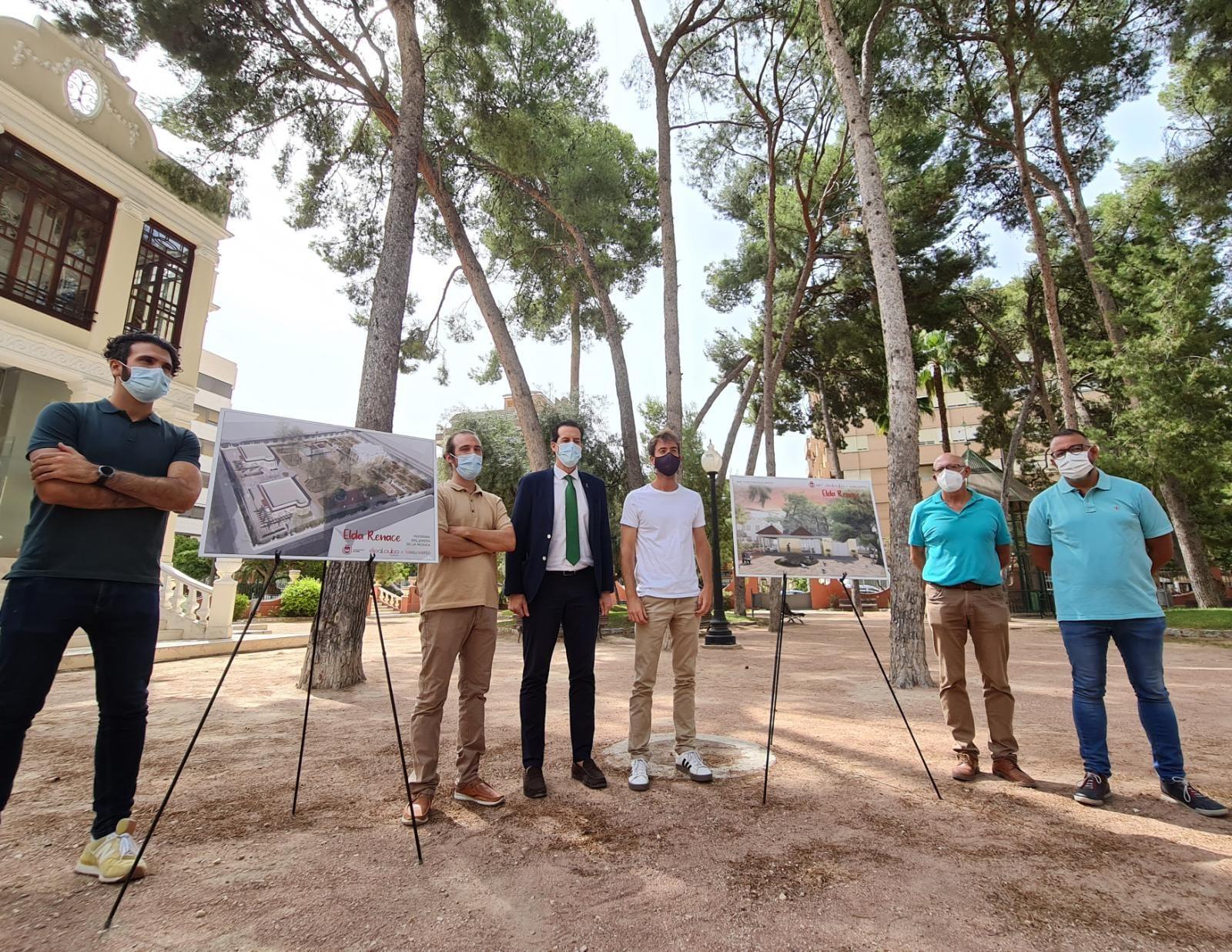 El Ayuntamiento de Elda pondrá en valor el Jardín de la Música con una reforma integral que mejorará la accesibilidad, ampliará las zonas ajardinadas y recuperará la cafetería