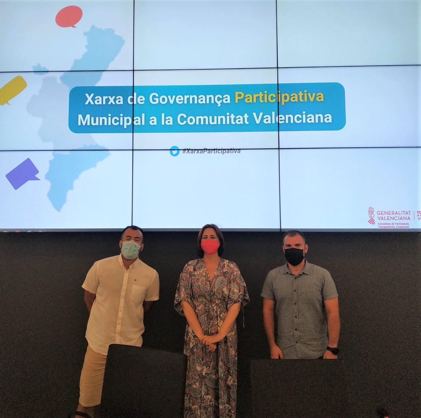 El Ayuntamiento de Elda forma parte del grupo que impulsa la Red de Gobernanza Participativa Municipal de la Comunidad Valenciana