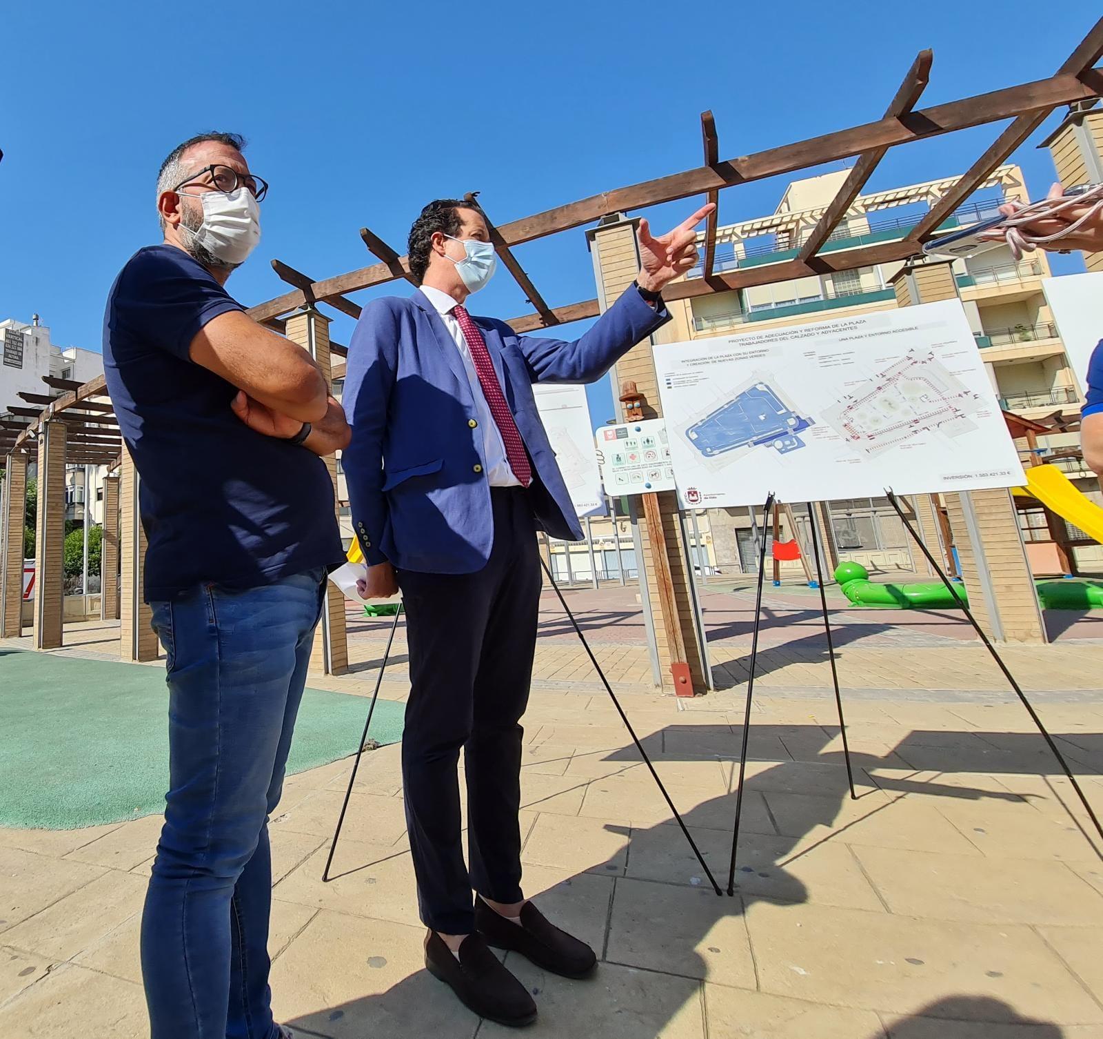 El Ayuntamiento de Elda acometerá la reforma de la Plaza del Zapatero para transformarlo en un espacio público accesible y con zonas verdes