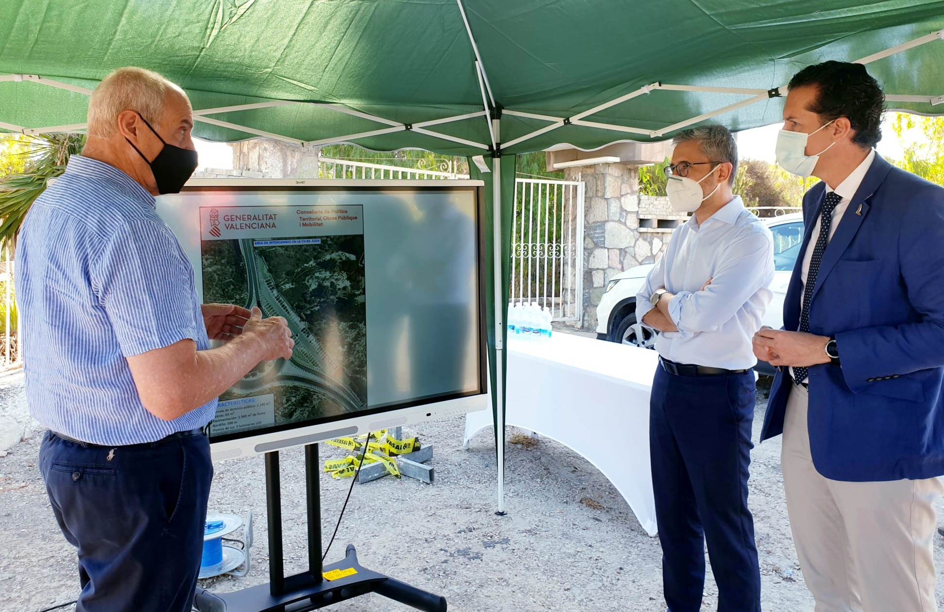 La Generalitat estudiará la propuesta del Ayuntamiento de Elda de crear una vía verde a lo largo del curso del río Vinalopó