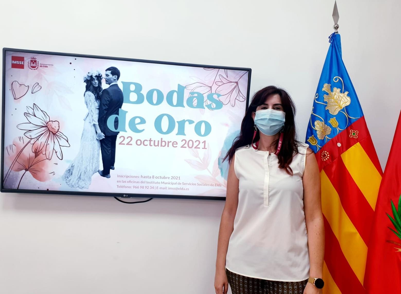 El Ayuntamiento de Elda retoma el homenaje a las parejas de la ciudad que celebran sus Bodas de Oro en los años 2020 y 2021