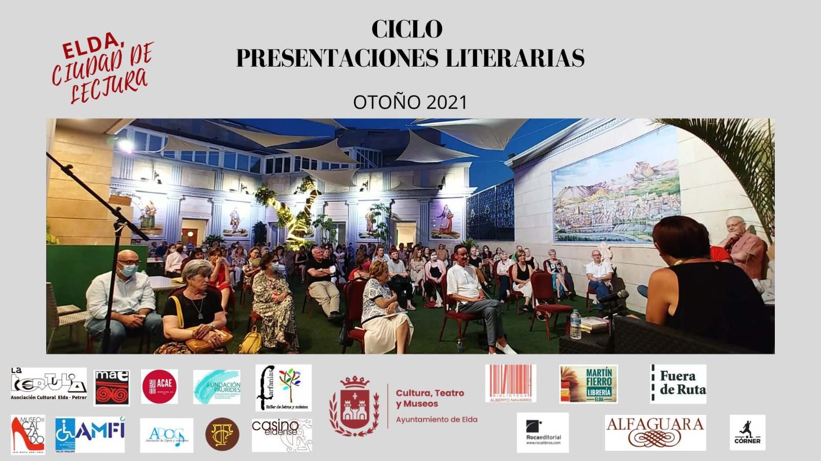 El Ciclo de Presentaciones Literarias Otoño 2021 dará comienzo el próximo miércoles en el Museo del Calzado de Elda