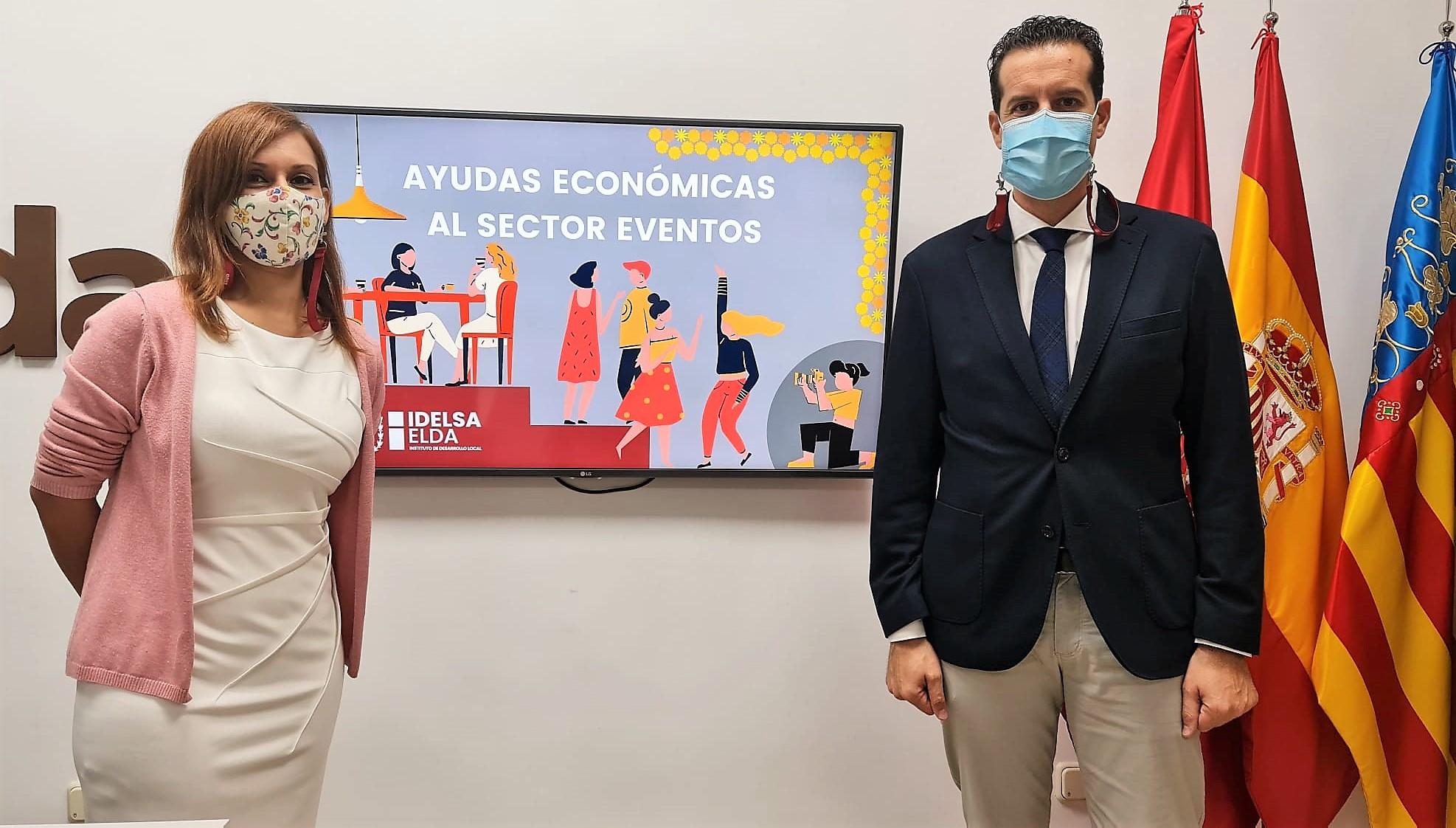El Ayuntamiento de Elda pone en marcha un nuevo paquete de ayudas económicas para las pymes y autónomos del sector eventos que se han visto afectados por la crisis sanitaria