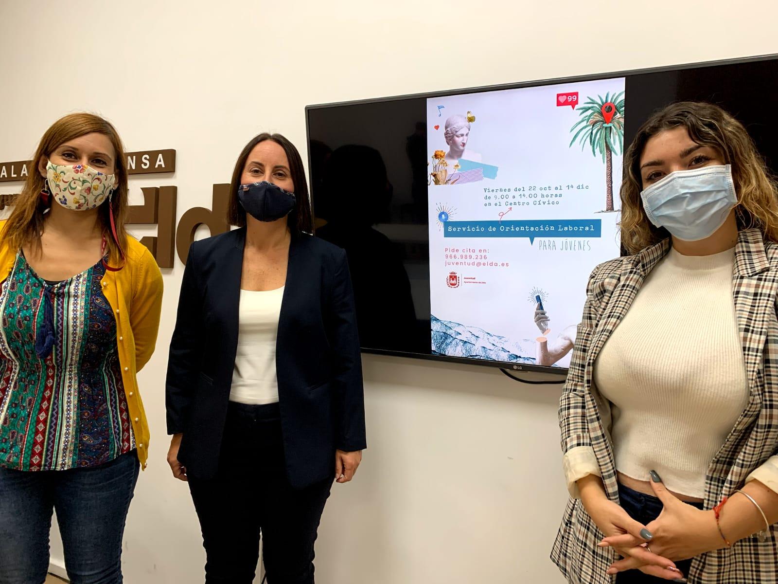 El Ayuntamiento de Elda organiza un servicio de orientación laboral orientado a jóvenes