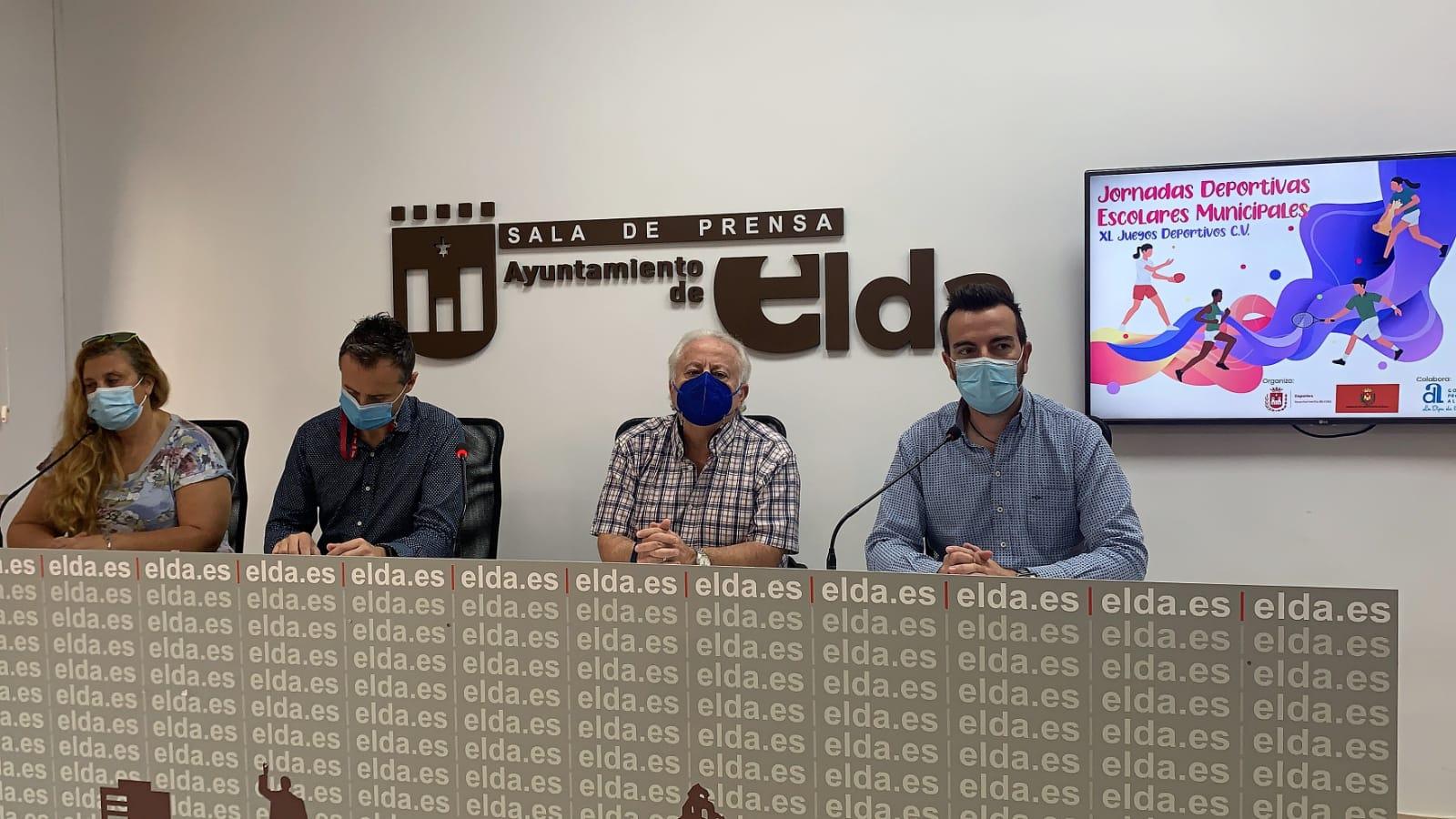 El Ayuntamiento de Elda retoma los Juegos Deportivos Escolares con el inicio de las competiciones a partir del mes de noviembre